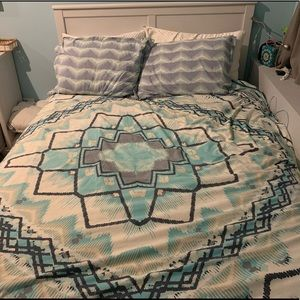 Magical Thinking duvet cover and shams